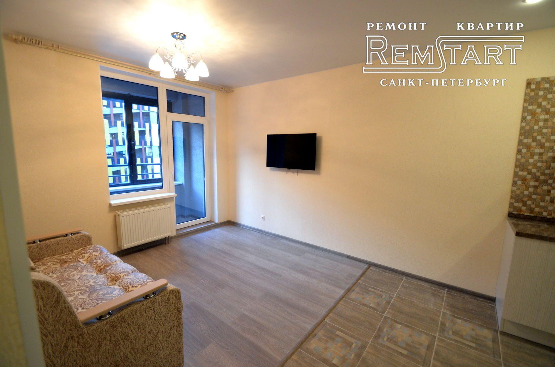 Косметический ремонт 2 комнатной квартиры в новостройке