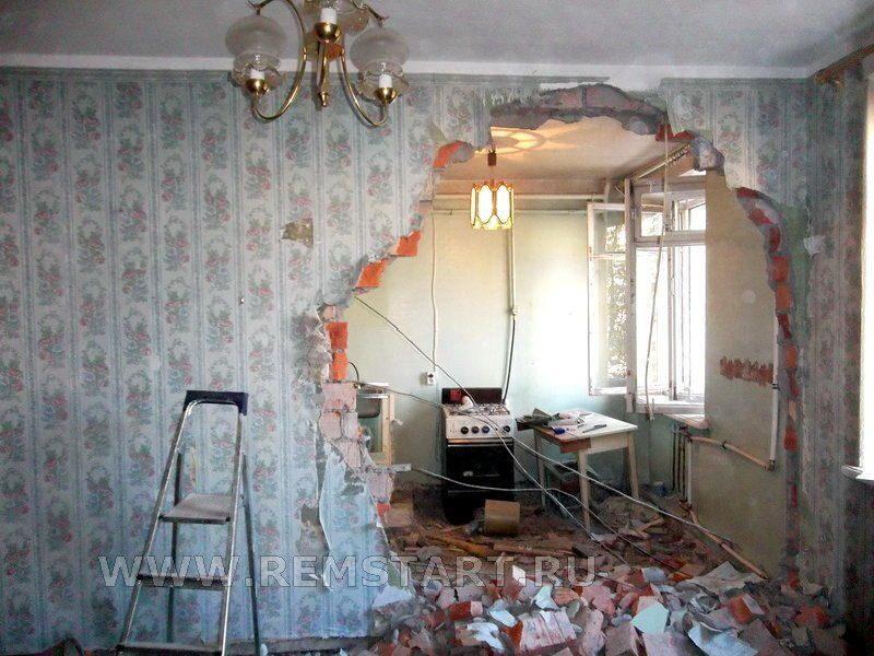 Ремонт в старом доме фото