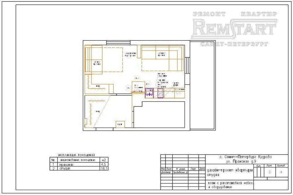 Дизайн проект квартиры сроки