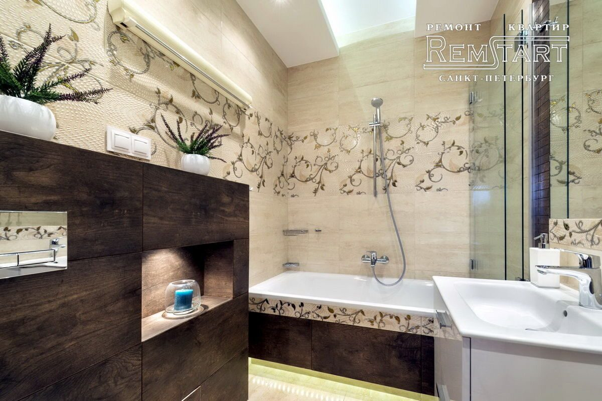 Спб дизайн ванной комнаты
