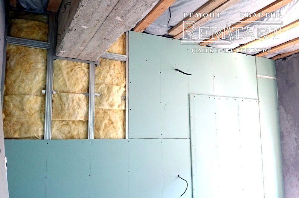 Стена из гипсокартона своими руками стоимость 90