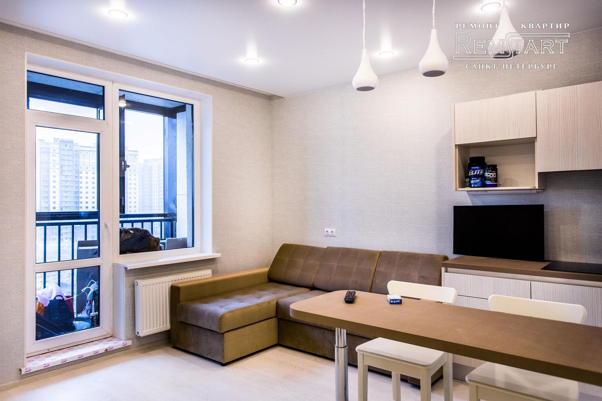 фото квартиры студии в спб