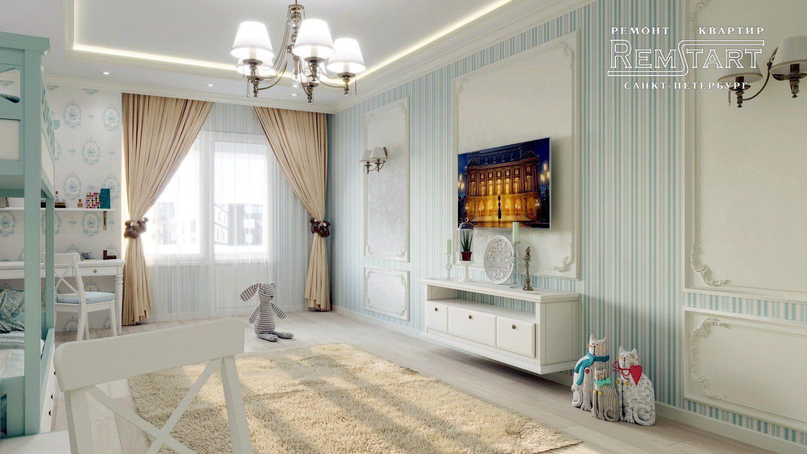 Царская Столица дизайн и ремонт квартиры СПБ