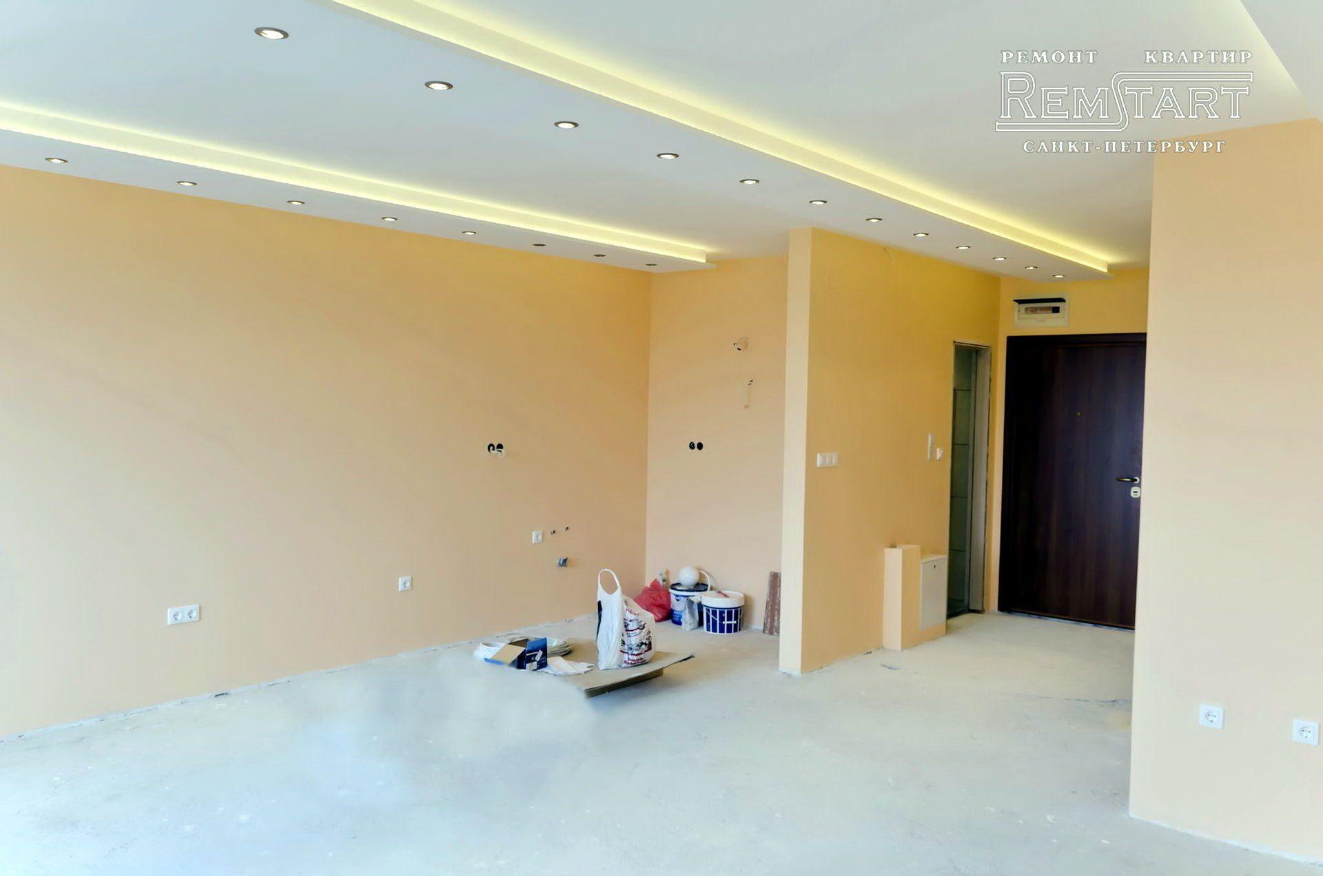 Ремонт однокомнатных квартир в новостройке в Перми: цены